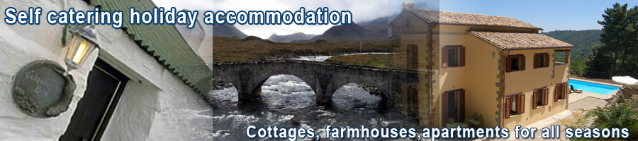 Self catering holiday accommodation, cottages, farmhouses, apartments for your holiday rental